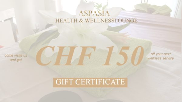 Gift Certificate CHF 150
