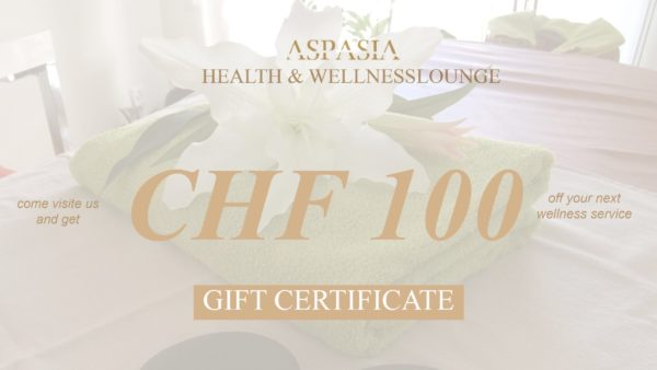 Gift Certificate CHF 100