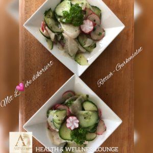 Rettich-Gurkensalat